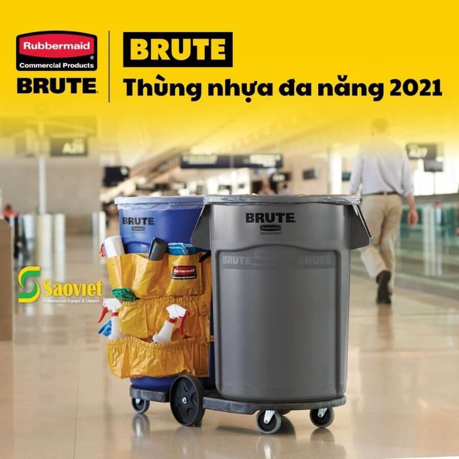 Brute đựng rác