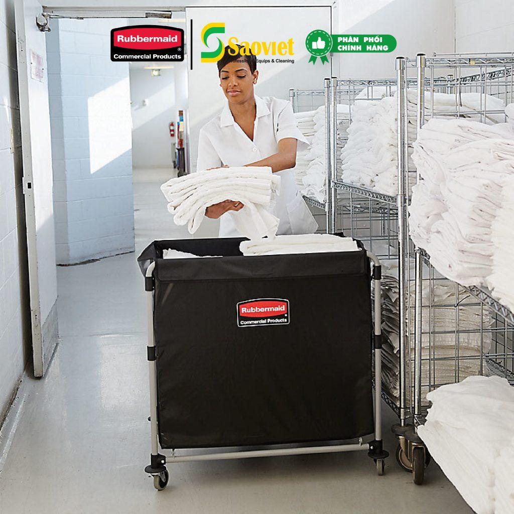 Xe đẩy chuyên dụng giặt ủi