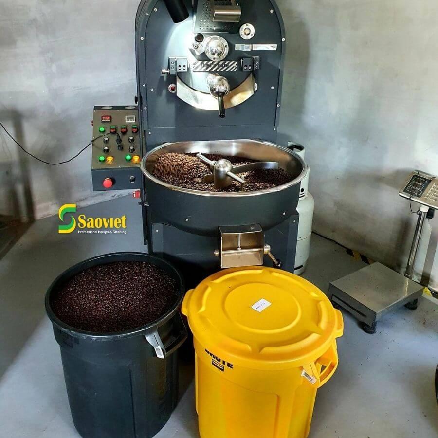 Thùng brute đựng cafe