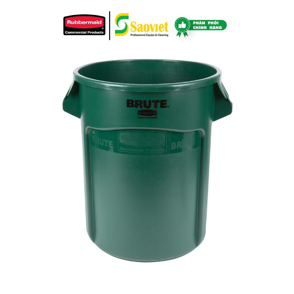 thùng brute xanh lá