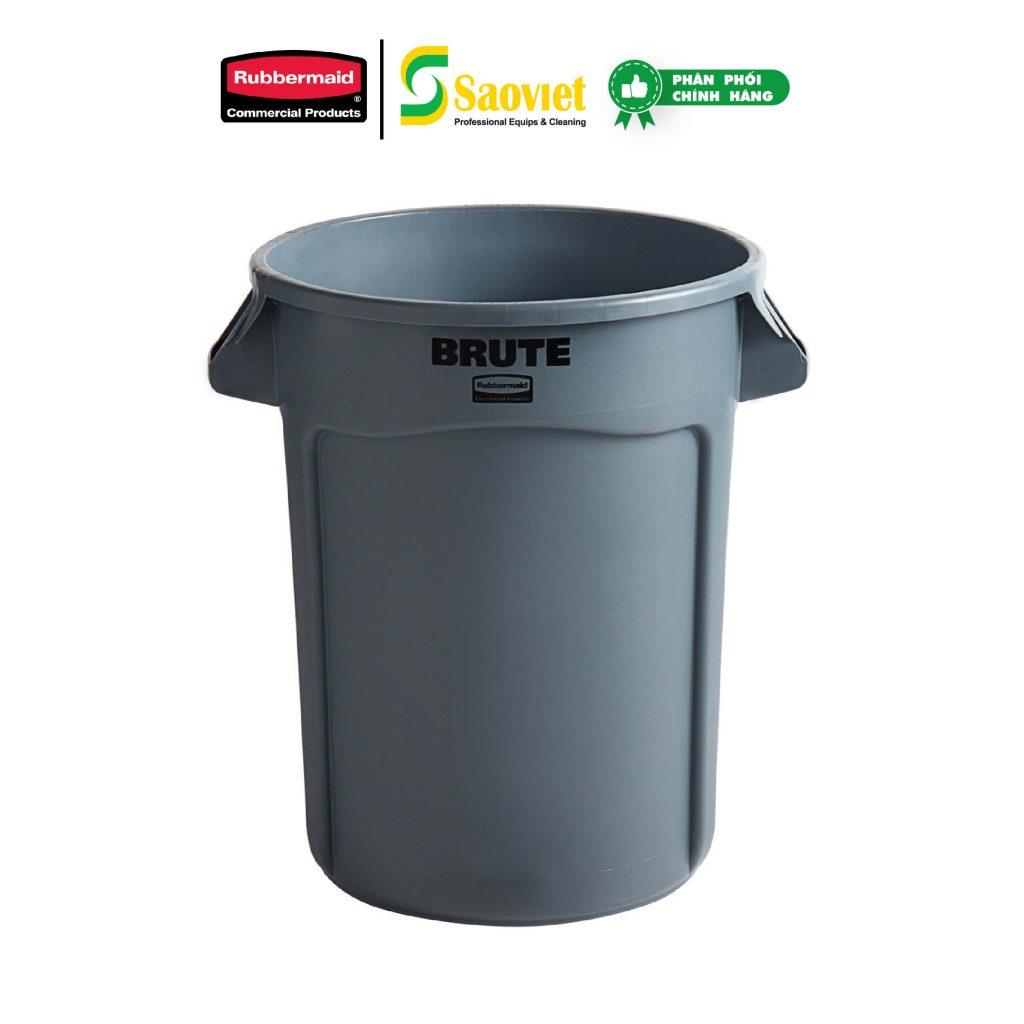 thùng brute xám
