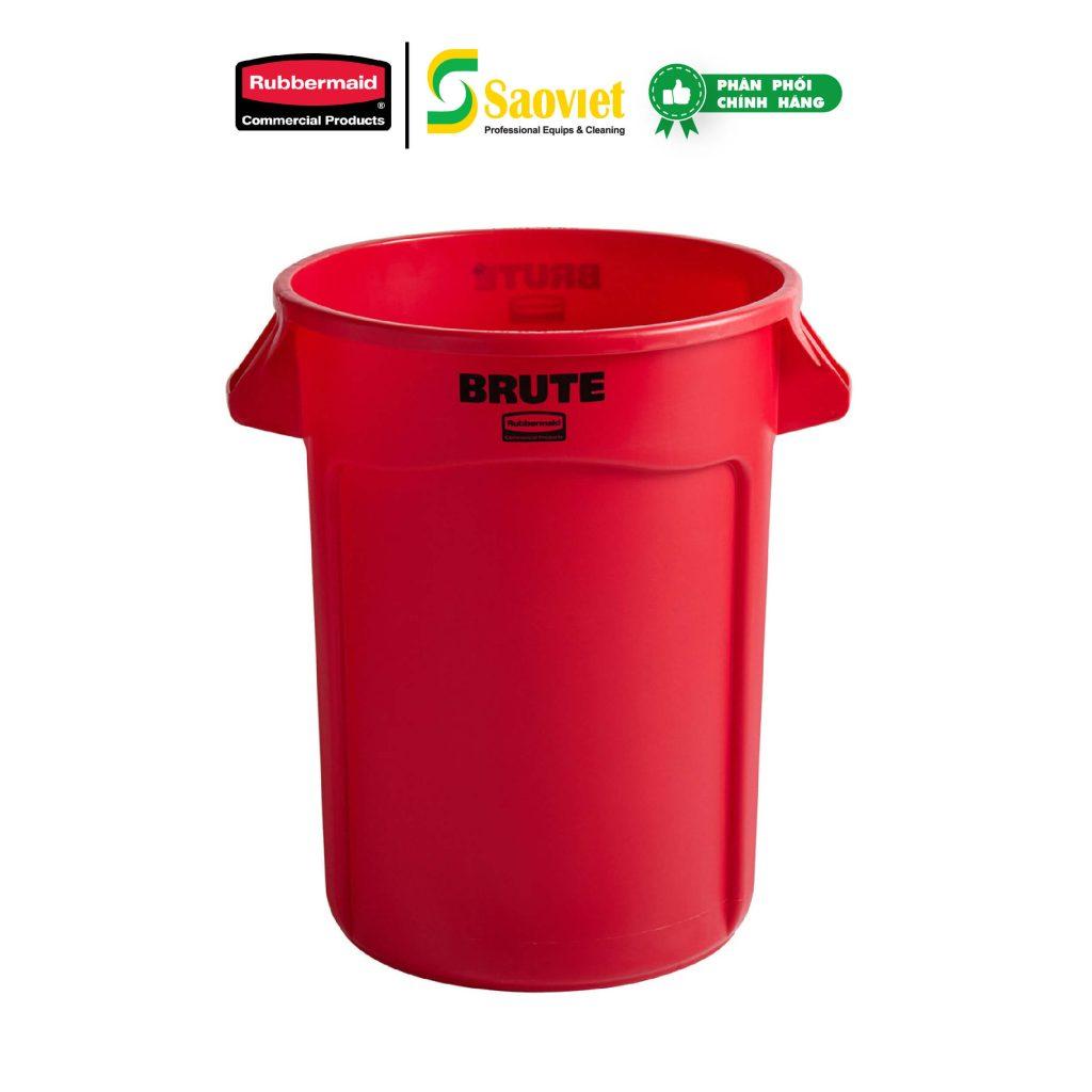 thùng brute đỏ