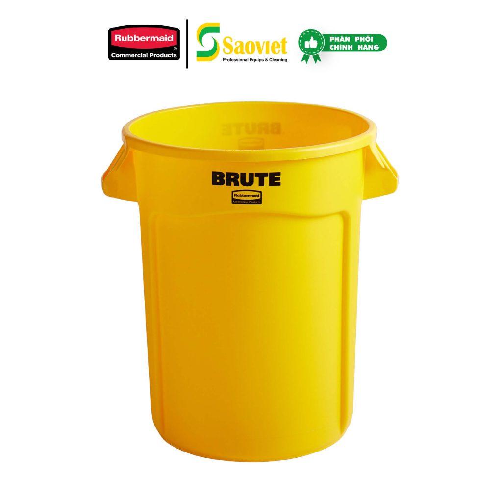 thùng brute vàng