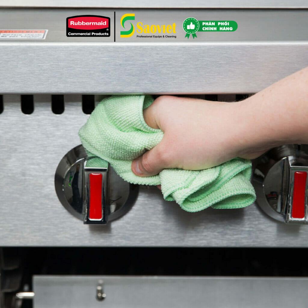 khăn lau microfiber - khăn lau dọn dẹp vệ sinh