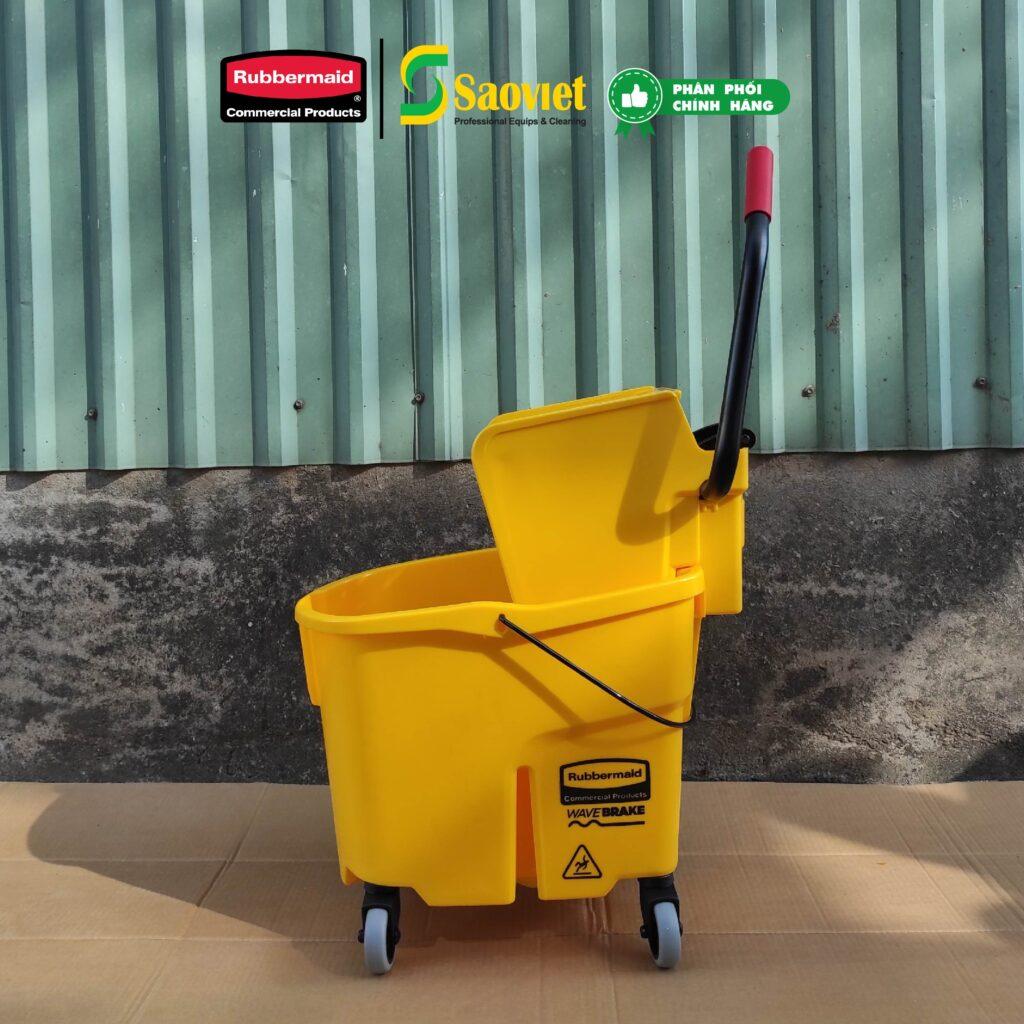 xe đẩy nước lau sàn chính hãng rubbermaid