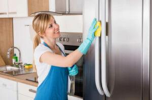 mẹo vệ sinh cách làm sạch tủ lạnh